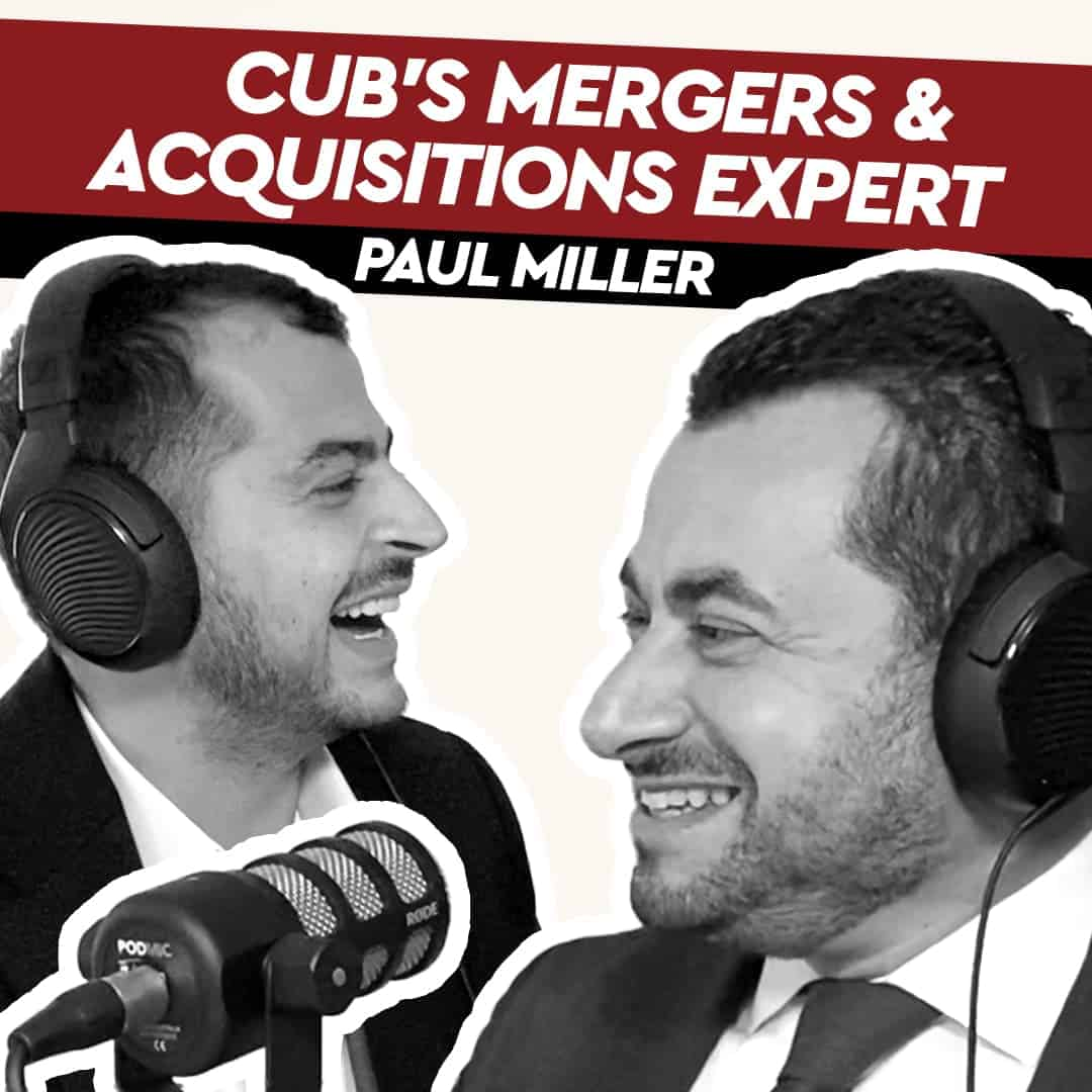 Paul Miller – CUB's Mergers & Acquisitions Expert